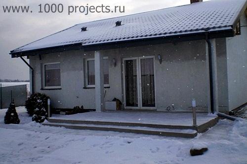 Построить одноэтажный дом из пеноблоков своими руками