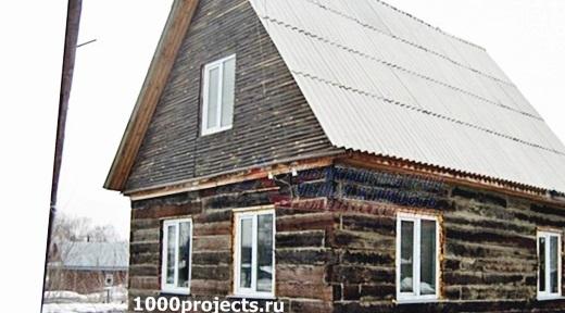 Как сделать дом из шпал своими руками
